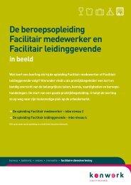 Facilitair medewerker en leidinggevende - Kenwerk