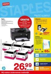 GRATIS - Folder - Staples