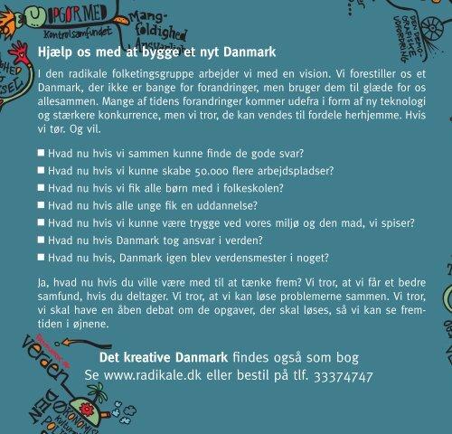 Hjælp os med at bygge et nyt Danmark Det ... - Radikale Venstre