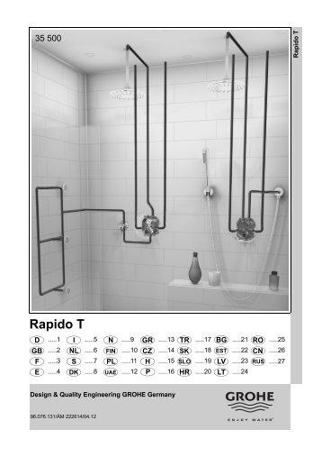 Инструкция - iSi sanitaire