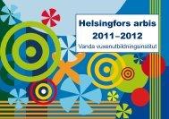 Helsingfors arbis 2011–2012