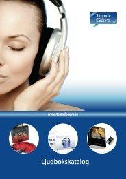 Ljudbokskatalog - Talande gåva