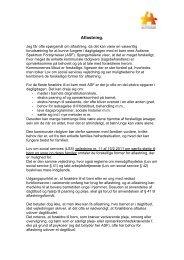 Aflastning, ændret - Landsforeningen Autisme