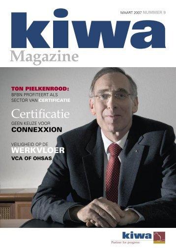 Kiwa Magazine maart 2007