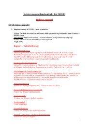 Resultatlønskontrakt 2009/10 - Frederiksborg Gymnasium og HF