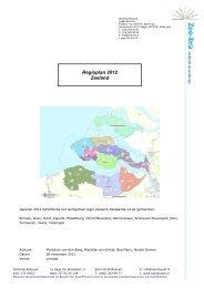 Regioplan 2012 Zeeland - Robuust