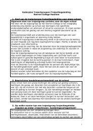 Sterren College - Samenwerkingsverband Zuid Kennemerland