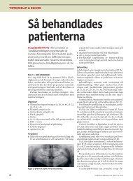 Så behandlades patienterna - Tandläkartidningen