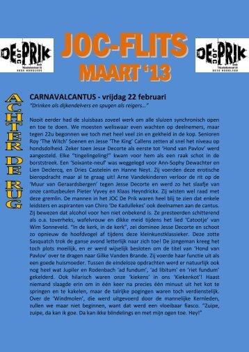 MAART'13 - JOC De Prik