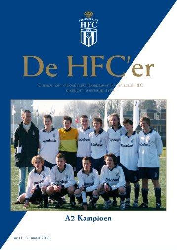 A2 Kampioen - Koninklijke HFC