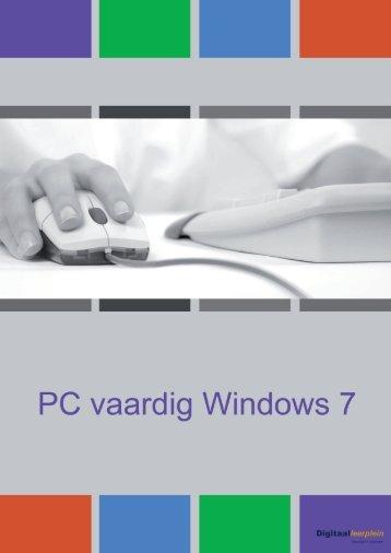PC vaardig - Windows 7 - Digikundig
