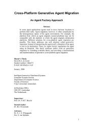 Cross-Platform Generative Agent Migration - Intelligent Interactive ...