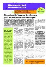 Meindersma 2007 (NL)