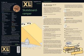 Skateboard- ramper - XL Bygg