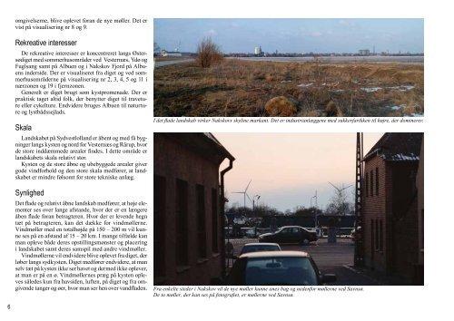 Miljørapport Kapitel 3. Landskabelige forhold - Hosting by Talk Active