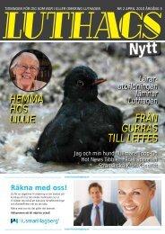 nr. 2/2010 - luthagsnytt