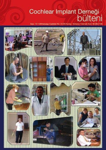 Dernek Dergisi 12.Sayısı - Koklear İmplant Derneği