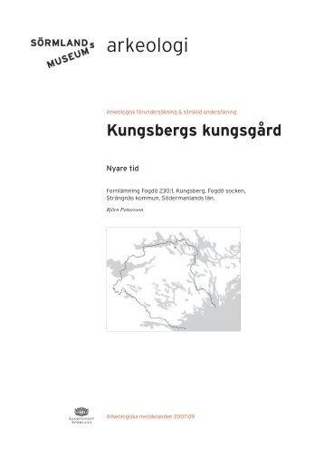 Kungsbergs kungsgård - Sörmlands museum