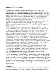 Artikel in het RD (28-8-2008): Zalig worden is ... - Gekrookte Riet