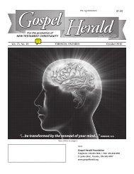 GH Oct 2010 - Gospel Herald Foundation