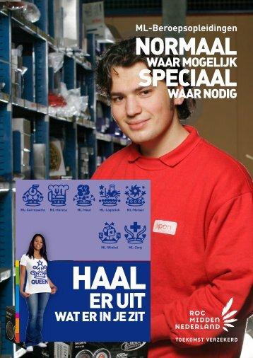 Moeilijk Lerenden - ROC Midden Nederland