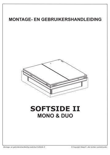 handleiding softside II.cdr - Vivera Waterbedden