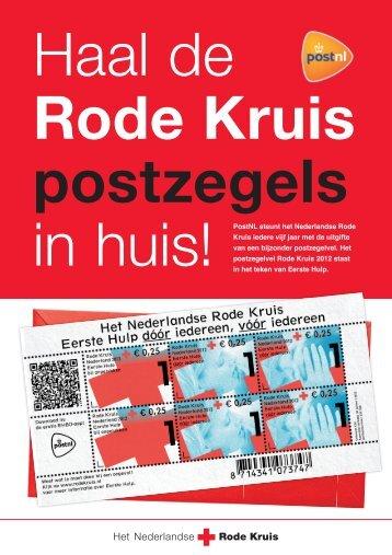Rode Kruis postzegels - Het Nederlandse Rode Kruis