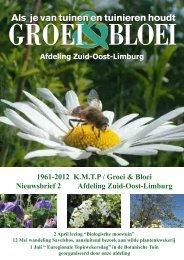 Nieuwsbrief 2012 nr. 2 - Zuid-Oost Limburg - Groei & Bloei
