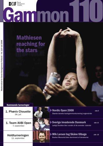 Mathiesen reaching for the stars - Dansk Backgammon Forbund