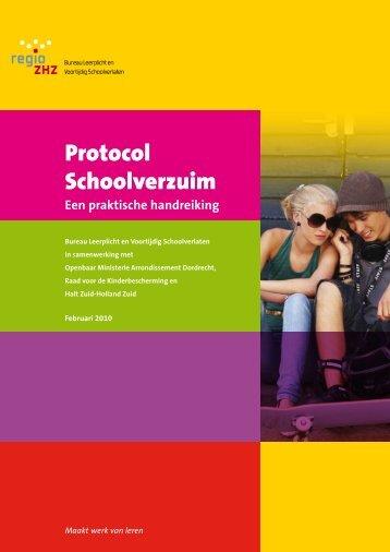Protocol Schoolverzuim - De Drechtsteden