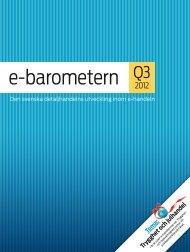 e-barometern Q3 2012 (pdf) - Hui