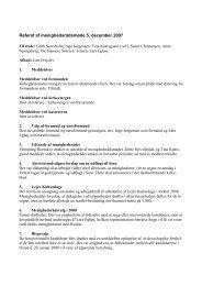 Referat af menighedsrådsmøde 2 - Hvalsø & Særløse kirker og ...