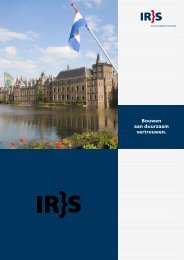 Download onze brochure (pdf). - IRS