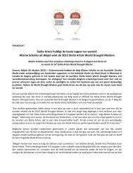 Stella Artois huldigt de beste tapper ter wereld: Allaine Schaiko uit ...