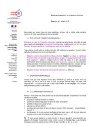 Conseils inspection - Mission TICE