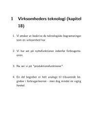Slides (Virksomheders teknologi - kapitel 18