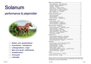 Solanum - Stald-Direkte