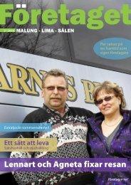 Företaget nr 2, år 2010 - Malung-Sälens kommun