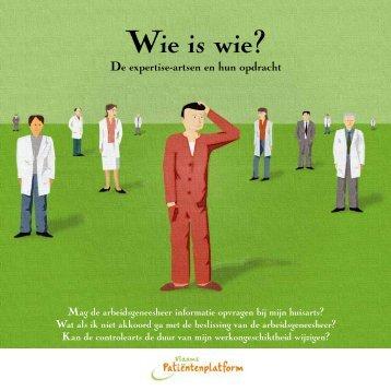 Wie is wie? - Vlaams Patiëntenplatform