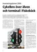 Investerings- planen: Ny cykelbro över älven Därför är ... - Göteborg - Page 4