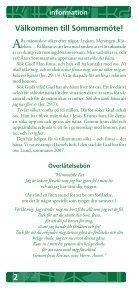 Programhäftet - Page 2