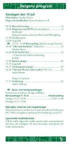 Programhäftet - Page 5