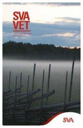 Tidningen SVAvet nr 2 2009 Tema: Klimatförändring
