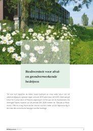 Biodiversiteit voor afval- en grondverwerkende bedrijven - BVDA