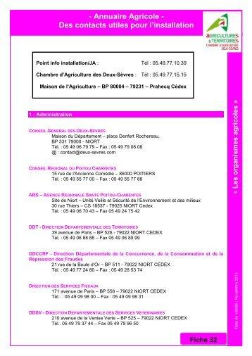 Annuaire circuits alimentaires de proximit chambre d - Chambre d agriculture des deux sevres ...