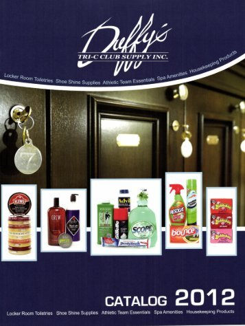2012 Catalog PDF - Tri-C Club Supply