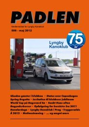 Padlen nr. 506 - Lyngby Kanoklub