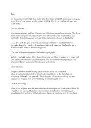 Islam En människa som tror på flera gudar eller ... - Religionskunskap