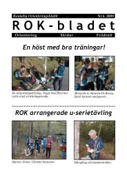ROK-bladet Nr 6 2009