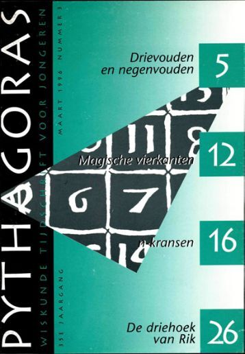 Drievouden en negenvouden 'lansen De driehoek van ... - Pythagoras